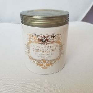 anthropologie pumpkin souffle scented candle